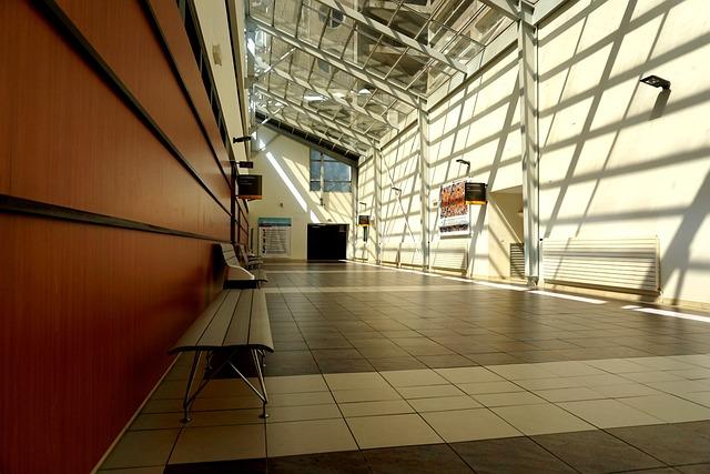 Corridor, Light, Building, Light And Shade