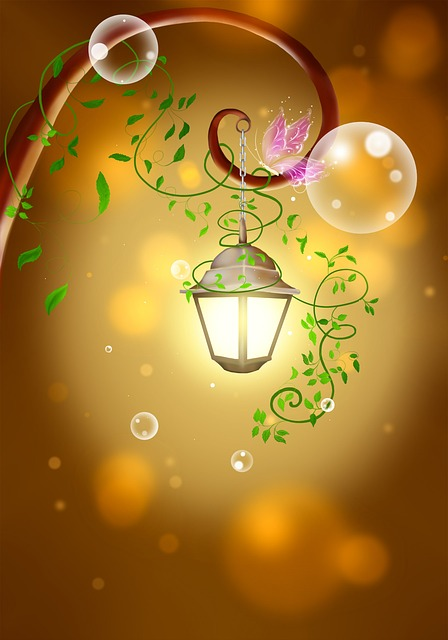 Lantern, Fairy Tale, Warm, Light, Brown Light