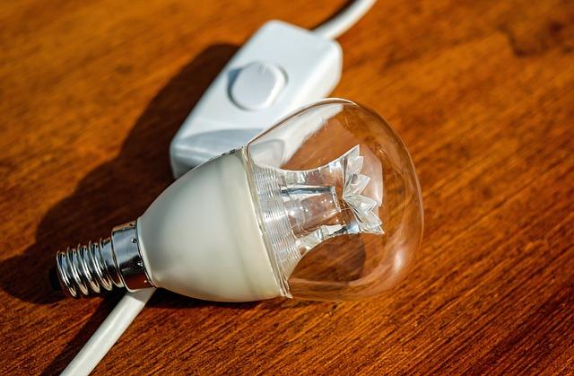Light Bulb, Pear, Current, Energy, Light