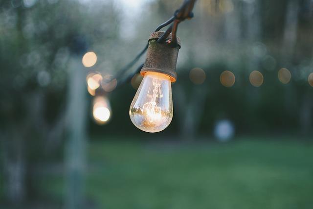 Bokeh, Light Bulbs, Lights, Macro, String Lights