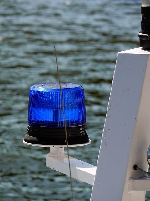 Alarm, Blue Light, Criminal, National Police, Light