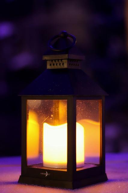 Illuminated, Lamp, Light, Lantern, Candle, Decoration