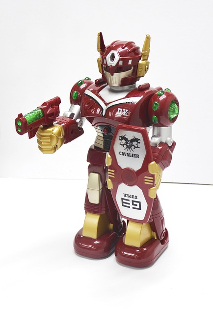 Toy Robot, Robot, Light Emitting Robots
