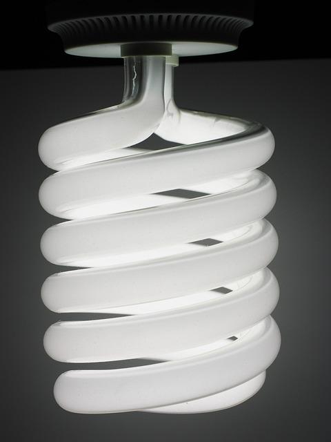 Energiesparlampe, Lamp, Bulbs, Lighting, Light