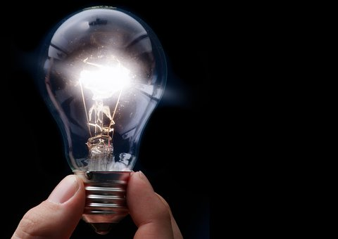 Light Bulb, Current, Electric, Light, Energy, Pear