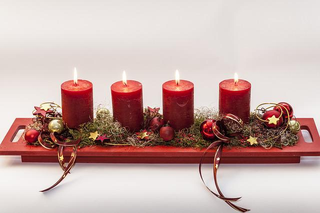 Advent, Fourth Candle, Before Christmas, Light