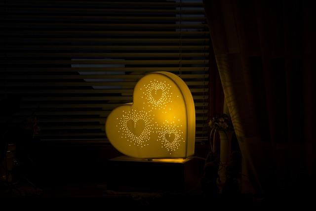 Heart, Light, Background, Romance, Welcome, Art, Lights