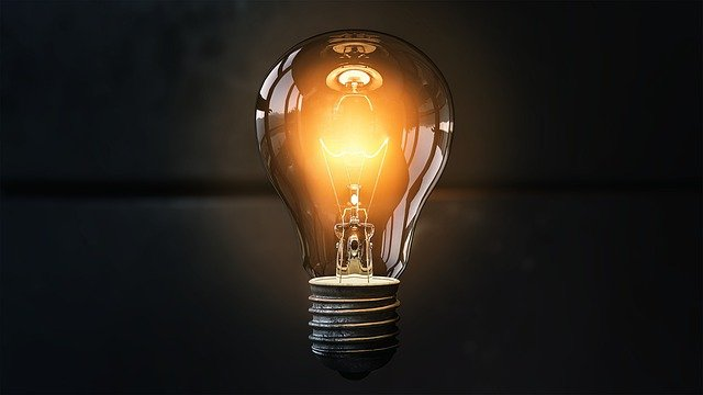 Light Bulb, Idea, Lit, Inspiration, Light, Energy, Bulb