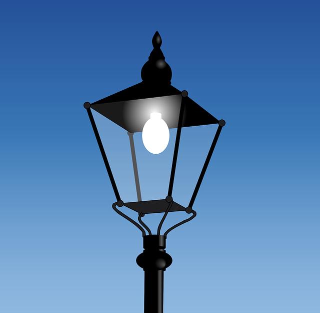 Street Lamp, Street Light, Lamp, Light, Street Lantern