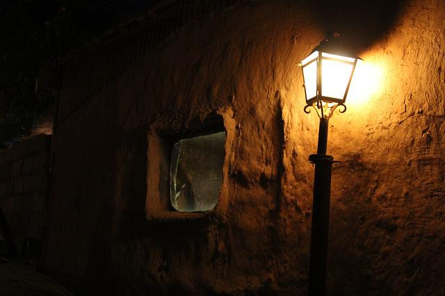 Light, Lantern, Night, Adobe, San Pedro De Atacama