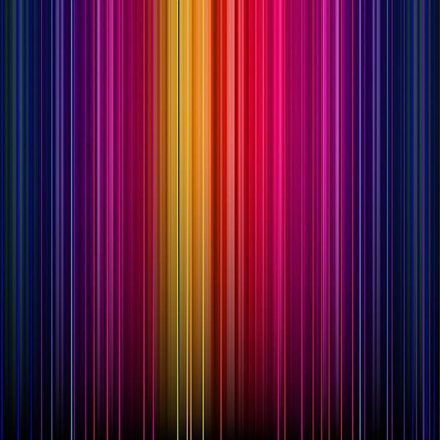 Rainbow Digital Paper, Light Leak Paper, Rainbow
