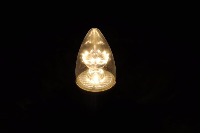 Led Lamp, Current, Light