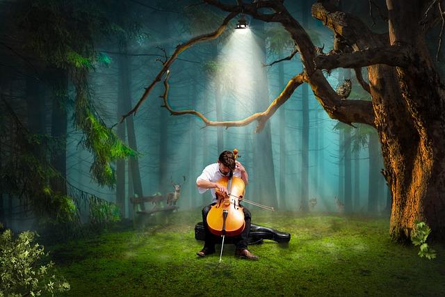 Light, Cello, Music