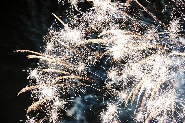 Fireworks, Firecrackers, Light, New Year