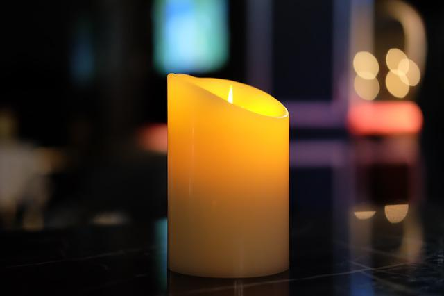 Light, Candle, Night