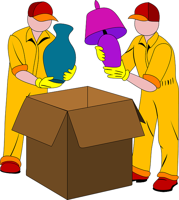 Movers, Packing, Box, Light, Vase, Pack, Cardboard