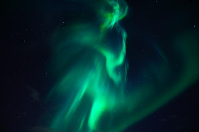 Northern Lights, Aurora, Light Phenomenon, Light, Green