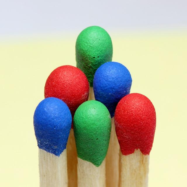 Matches, Color, Rgb, Light, Fire, Pixel, Macro