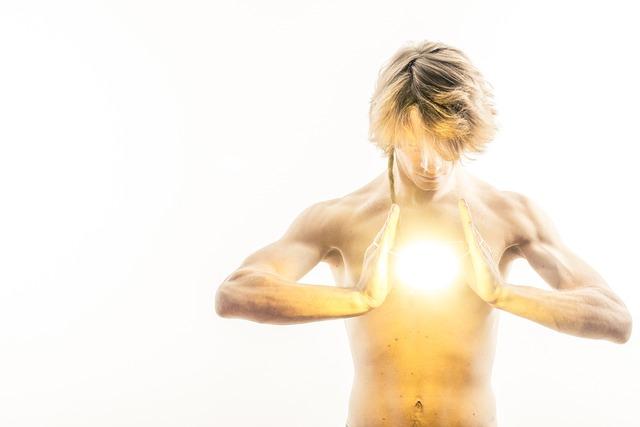A Man, Boy, Photo, Act, White, Light, Power, Charm