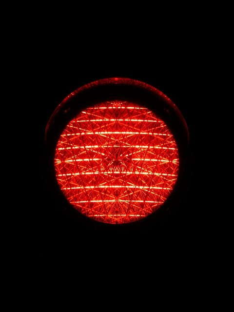 Traffic Lights, Red Light, Red, Light, Traffic Signal