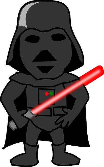 Darth Vader, Light Sabre, Funny, People, Character