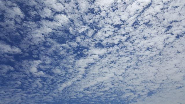 Sky, Autumn Sky, Serenity, Cloud, Light, Blue