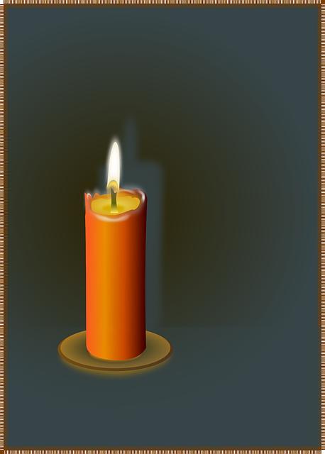 Candle, Flame, Wax, Fire, Light, Romance, Shine, Glow
