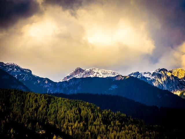 Alpine, Schladming, Light, Austria, Nature, Sky