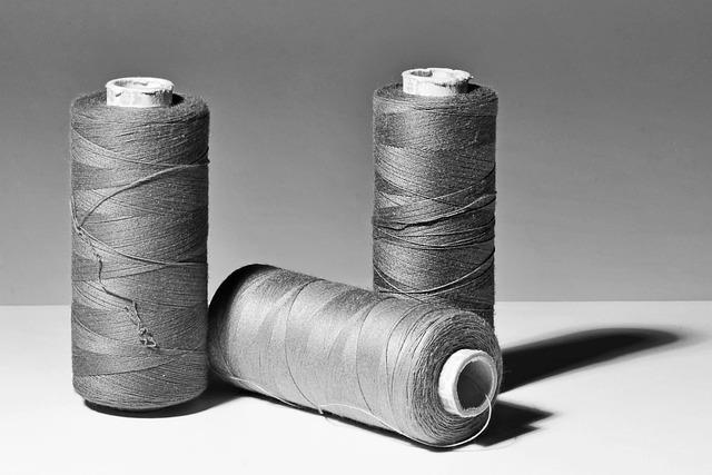 Yarn, Thread, Still Life, čenobílé, Shadow, Light