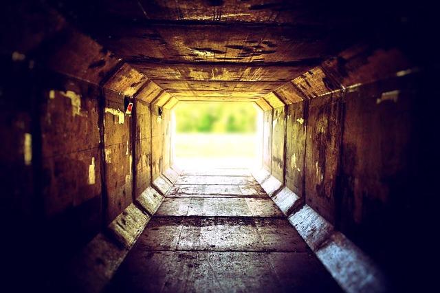 Tunnel, Urban, Light, Underground