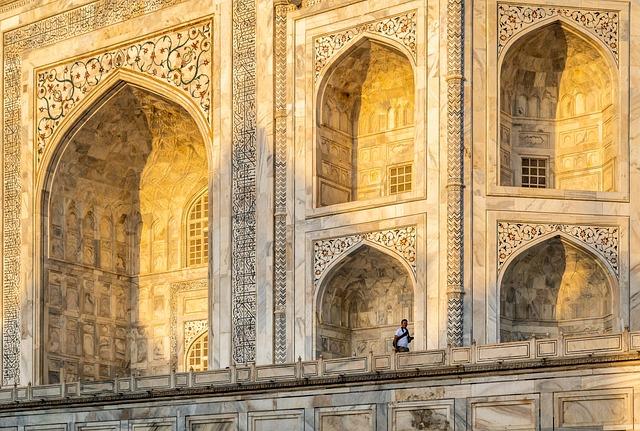 Architecture, Light, Monument, Taj Mahal, Unesco