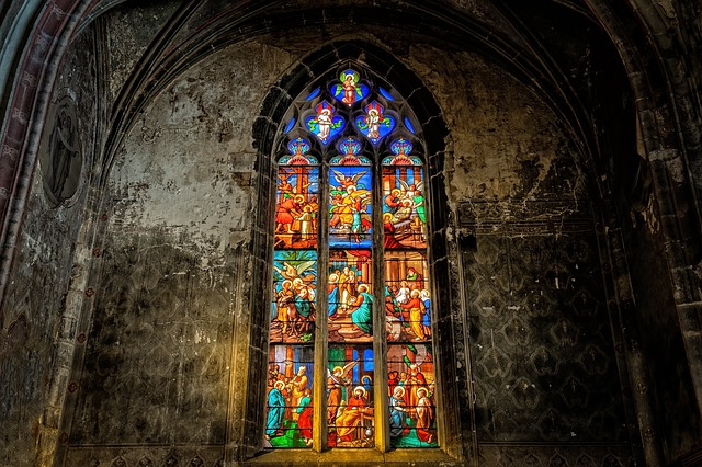 Church, Window, Colorful, Church Window, Glass, Light