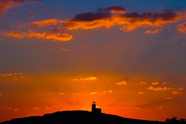Beachy Head, Sunset, Lighthouse