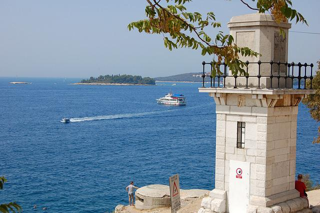 Rovinj, Croatia, Panorama, Sky, Istria, Lighthouse