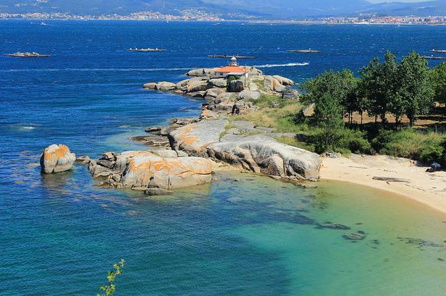 Lighthouse, A Illa De Arousa, Tourism, Landscapes