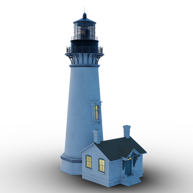 Lighthouse, Lighter, Sea, Ocean, Naval Science