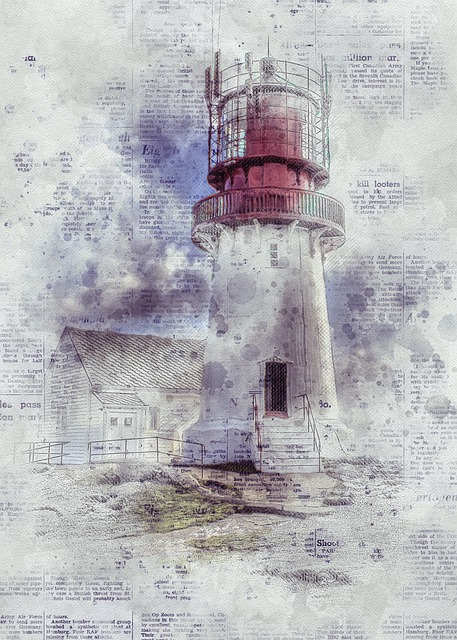 Lighthouse, Norway, Scandinavia, Building, Architecture
