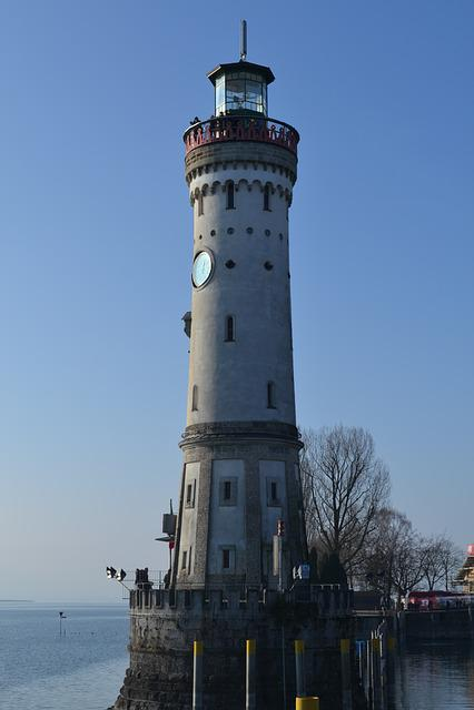 Lake Constance, Lindau, Lighthouse, Places Of Interest