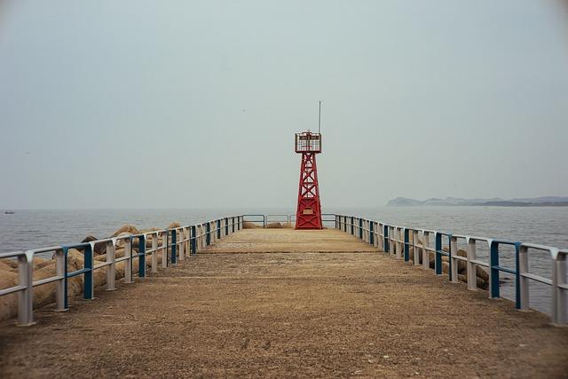Sea, Lighthouse