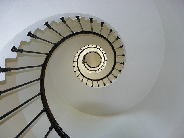 Staircase, Snail, Lighthouse, Architecture, Structure