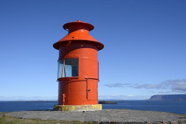 Lighthouse, Lighthouse Súgandisey, Stykkishólmur
