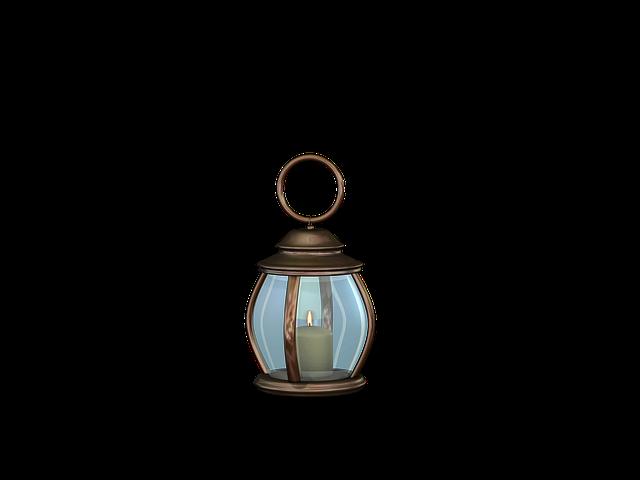 Lamp, Lantern, Light, Lighting, Isolated