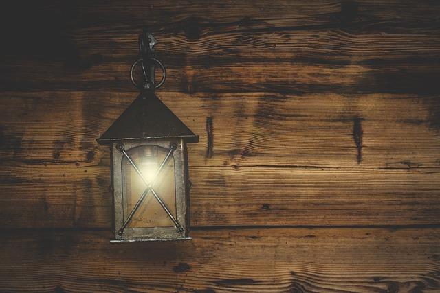 Lantern, Wooden Wall, Rusztikal, Lighting, Atmospheric