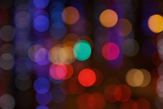 Bokeh, Colors, Lights, Lens