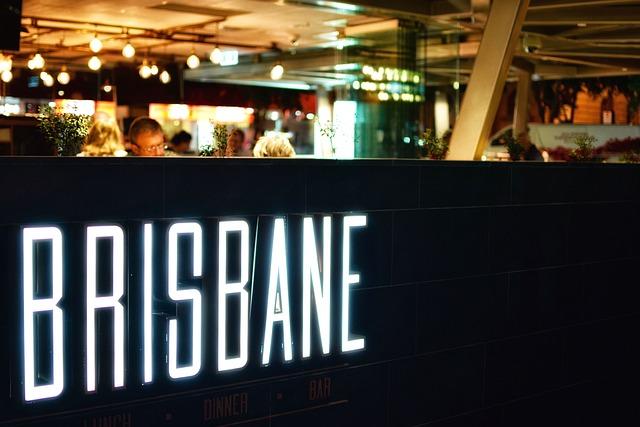 Bar, Brisbane, Lights, People, Restaurant