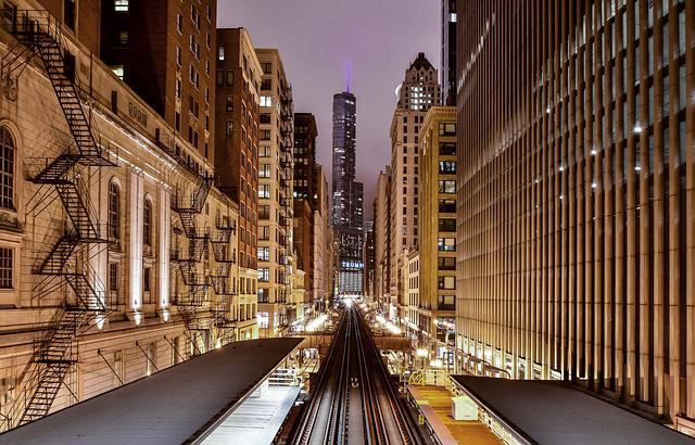 Architecture, Buildings, City, Downtown, Lights, Urban