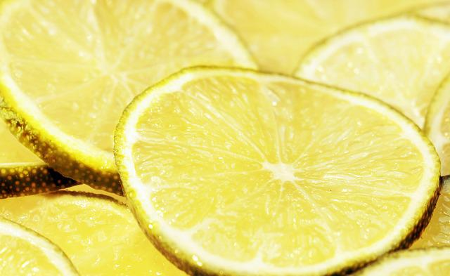 Lime, Lime Slices, Lemons, Citrus Fruit