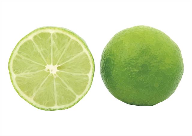 Lemon, Vector, Green, Fruit, Lime