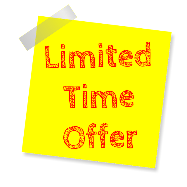 Limited Time Offer, Deal Of The Day, Deal, Sale