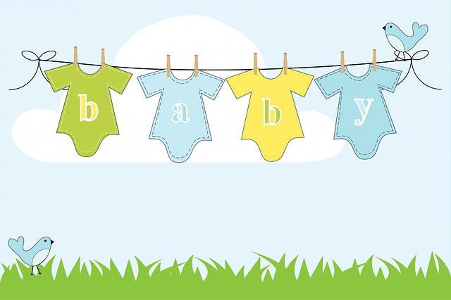 Baby, Boy, Background, Clothes, Line, Clothes Line
